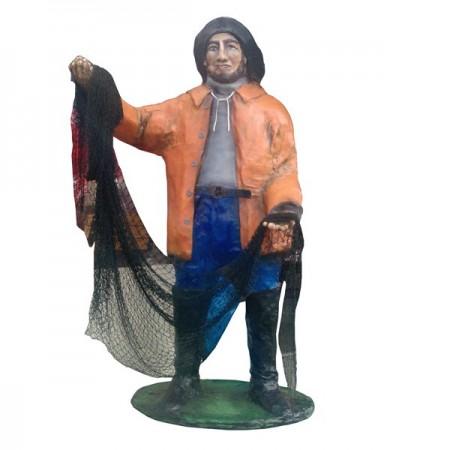 Rybak - figura na zamówienie