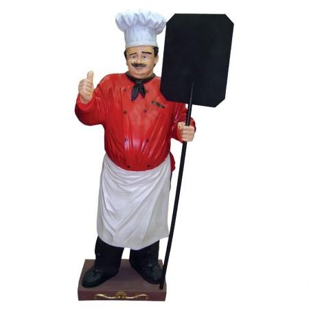 Piekarz 180 cm - figura reklamowa