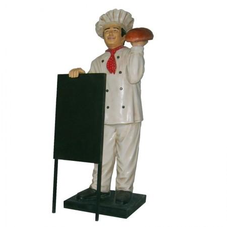 Piekarz 135 cm - figura reklamowa
