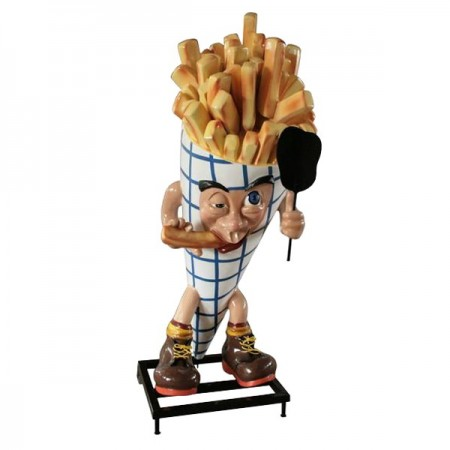 Frytki 190 cm - figura reklamowa