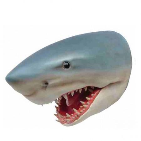 Głowa rekina 80 cm - figura dekoracyjna