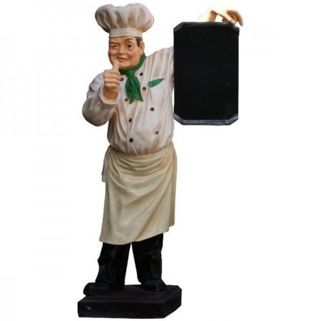 Kucharz 180 cm - figura reklamowa