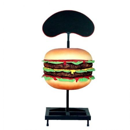 Hamburger 120 cm - figura reklamowa